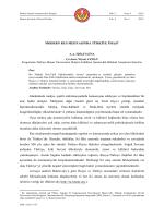 MODERN RUS MEDYASINDA TÜRKİYE İMAJI1 Günümüzde medya