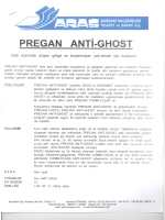 PREGAN ANTi-GHosT - Aras Serigrafi 0