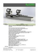 ET2-4500 T Otomat Çift Kafalı Testere
