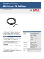 LBB 4416/xx Ağ Kabloları