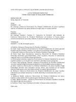 22.01.2014 tarih ve 2014/4-‐6 sayılı fakülte yönetim kurulu kararı Ç.Ü