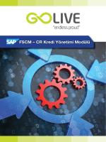 FSCM – CR Kredi Yönetimi Modülü
