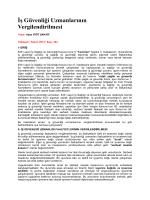 İş Güvenliği Uzmanlarının Vergilendirilmesi - Arel eArsiv