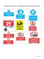 Depolama, Taşıma Ve İstifleme İşlerinde İş Güvenliği
