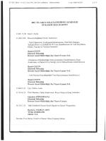 Dış Ticaret Bilgilendirme Semineri Programı