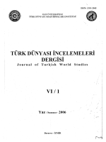 ISSN: 1301-2045 - İdil Ural Araştırmaları