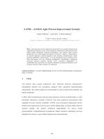 LAPIS – (LOGO Agile Process Improvement System) - CEUR
