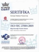 ISO/IEC 27001:2005 Bilgi Güvenliği Yönetim Sistemi