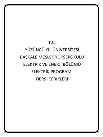 b - Yüzüncü Yıl Üniversitesi