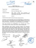 15.10.2014 Yönetim Kurulu Toplantı Tutanağı