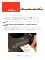 Monarch® 9416 XL™ Masaüstü yazıcı