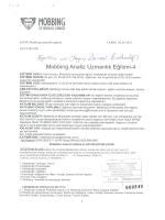 Mobbbing Analiz Uzmanlık Eğitimi 4