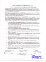 2013 Yılı Olağan Genel Kurul Toplanti Tutanaği