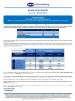 basın açıklaması - JCR Eurasia Rating