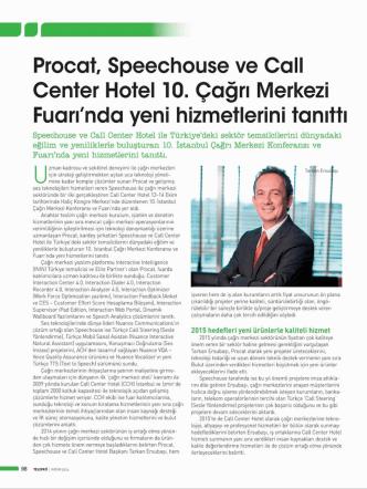 24.11.2014 Telepati Telekom - Çağrı Merkezi Fuarı