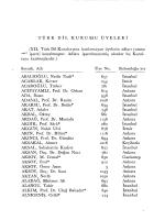 TÜRK DİL KURUMU ÜYELERİ - Türk Dil Kurumu Kütüphanesi