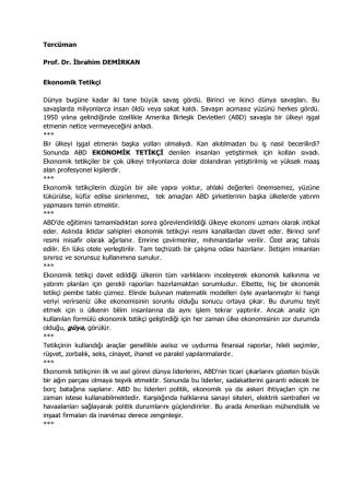 4 - Prof.Dr.İbrahim Demirkan