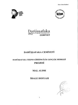 Darusşafaka - Darüşşafaka Cemiyeti