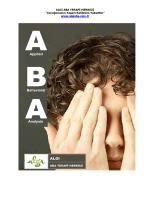 Tanıtım Dosyası - Algı ABA Terapi Merkezi