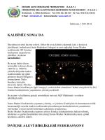 IABF Soma Bildirisi 15_05_2014 - İsviçre Alevi Birlikleri Federasyonu