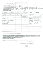 Sevgican Karahan Üretici Tanıtım Formu