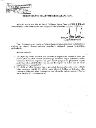 18fo Z? aci/laz, - Türkiye Büyük Millet Meclisi