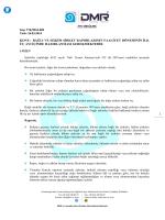 TTK/2014.009 – Bağlı ve Hâkim Şirket Raporlarının Faaliyet