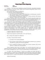 Yüksek Seçim Kurulunun 6/6/2014 tarihli ve 2913 sayılı kararının