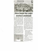 Aksa Doğal Gaz çağrı merkezi yenilendi (11.12.2014)