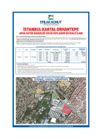 İstanbul Kartal Orhantepe Arsa Satışı Karşılığı