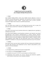 AFE Şartnamesi (pdf)