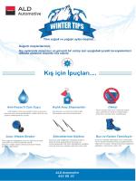 Kış için İpuçları.