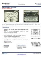 Accessories FMS-12 Fiber Ek Kaseti Özellikleri