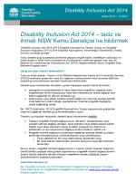 DIA fact sheet 5 - reporting abuse and neglect - Turkish