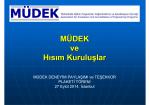 Sunum - MÜDEK