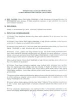 Teknik şartname - Mersin Sağlık Müdürlüğü