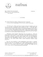 Bakanlığımız Temel Eğitim Genel Müdürlüğü´nün Okul Öncesi