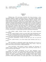 2014/1 Sayılı Kamu Görevlileri Etik Kurulu Genelgesi
