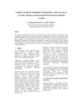 farklı türkiye mermer türlerinin toplam alfa ve