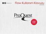 Flow Kullanım Klavuzu - MSGSÜ