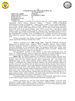 Haziran 2014 Meclis Tutanak Özetleri