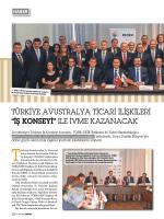 """TÜRKIYE AVUSTRALYA TICARI ILIŞKILERI """"IŞ KONSEYI"""" ILE IVME"""