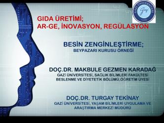 Besin zenginleştirme - İstanbul Sağlık ve Beslenme Bienali