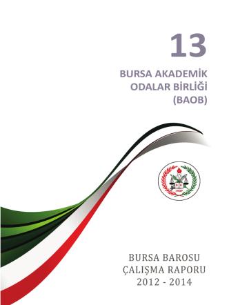 13.bölüm - bursa akademik odalar birliği (baob)