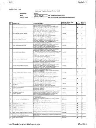 Ana Sayfa | Listele | Çıkış Başmüdürlüğü : Merkez Şube veya Acenta