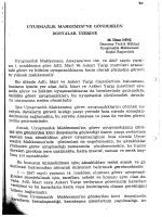M. İlhan DİNÇ, Adalet Dergisi, 1985, Sayı 1