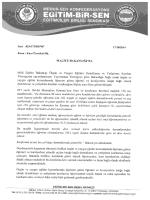 Maliye Bakanlığına Gönderilen Yazıyı Görüntülemek