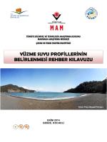 Yüzme Suyu Profil Oluşturma Rehber Kılavuzu (PDF)