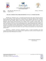 Antalya Limanı - Ankara Gümrük Müşavirleri Derneği