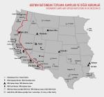 Toplama Kampları ve Diğer Kurumların Haritası